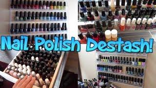 Nail Polish Destash!!