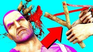 HOW TO RAID WITH A SLINGSHOT IN ARK SURVIVAL EVOLVED! (Ark Survival Evolved Trolling)