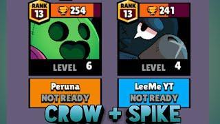 Crow ja Spike COMBO! | Brawl Stars Suomi
