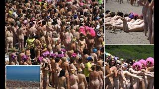Over 2,500 women set new Guinness World Record for mass skinny dipping
