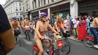 London naked cycling