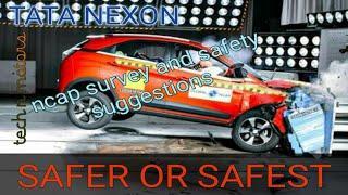 Nexon with 4 stars, pass or fail in ncap analysis (Hindi)