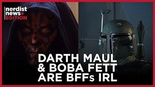 Boba Fett & Darth Maul: Real Life BFFs (Nerdist News Edition)
