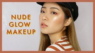 EASY NUDE GLOW MAKEUP | FOR BEGINNERS & BACK TO SCHOOL MAKEUP