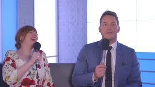 Chris Pratt and Bryce Dallas Howard FAIL our British quiz!