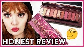 URBAN DECAY 'NAKED CHERRY' PALETTE | 3 LOOKS, REVIEW + SWATCHES