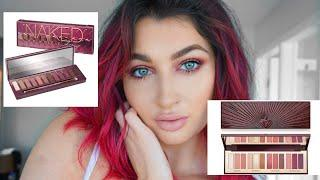 URBAN DECAY NAKED CHERRY PALETTE VS CHARLOTTE TILBURY STARS IN YOUR EYES PALETTE