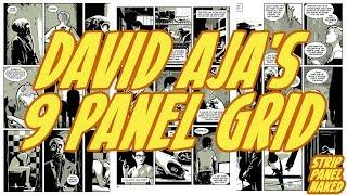 David Aja's 9 Panel Grid Approach   Strip Panel Naked