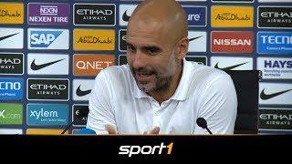 So erklärt Guardiola den Verzicht auf Leroy Sane | SPORT1