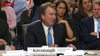 Kavanaugh on what courts can do when presidents abuse their authority