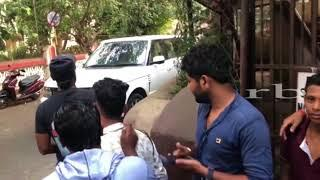 Remo Desouza Spotted At Dubbing Studio With Wife