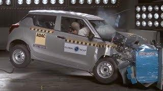 Swift 2018 Crash Test | 2 Star in crash Test | Swift Failed in Crash Test