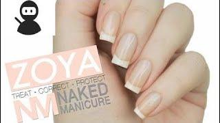 PERFECT NATURAL NAILS?! | Zoya Naked Manicure Review + Demo New 2018