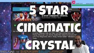 5 Star Cinematic Crystal Opening  l  Marvel Contest Of Champions