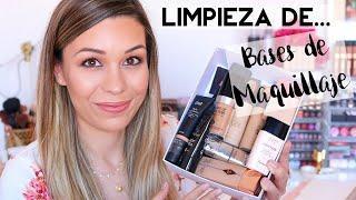 Limpiando mi Colección | Bases de Maquillaje