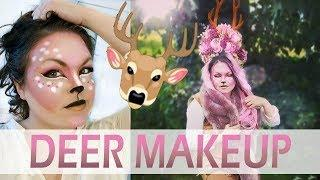 ???? *GLAM DEER / FAWN MAKEUP* ???? --- Pretty & Perfect for Halloween, Ren Faire, or Costume Party!