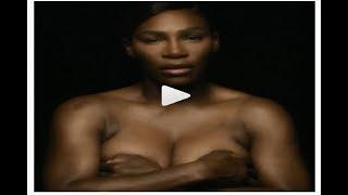 Serena Williams sings topless for 'I Touch Myself' in breast cancer awareness video