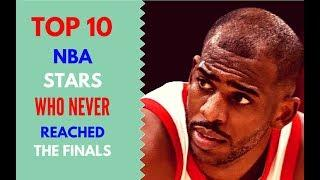 Top 10 NBA Stars Who Never Reached the Finals