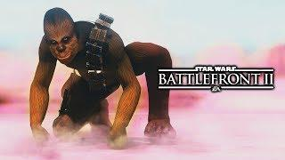 Star Wars Battlefront 2 - Funny Moments #22 Naked Chewbacca