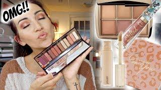 GRWM-TRYING POPULAR NEW MAKEUP RELEASES | CHARLOTTE TILBURY STARS PALETTE
