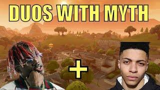 Lil Yachty Plays Duos With TSM Myth At The Fortnite Celebrity Pro-Am Event