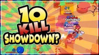 IS THIS POSSIBLE? 10 Kills in Solo Showdown? | CanYaDigIt | Brawl Stars
