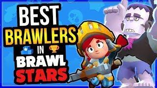 Best & Worst Brawlers in Brawl Stars! Overall Brawler Ranking