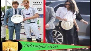 Meghan Markle was widely criticized for not wearing pants when she arrived at the Polo event