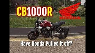 Honda CB1000R - 2018 - Review, walkaround and full ride of their new naked motorcycle