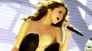 20 Famous Pop Star Falling on Stage Compilation - Celebrity Fail