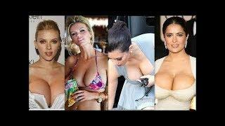 Top 10 Hollywood Celebrities with Biggest Boobs | Sexy Boobs | naked actress boobs