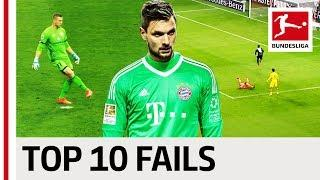 Best Goalkeeper Bloopers 2017/18 – Fails, Bad Luck and Mishaps