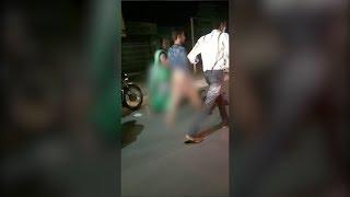Rajkot: Wife drags drunkard husband naked to police station