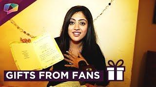 Aditi Sharma Receives Gifts From Her Fans | Exclusive | Gift Segment