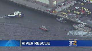 Rescue Crews Called To Pier 36 After Women Jumps In East River