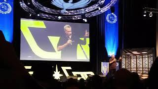 John DeLancie about being naked on set of Star Trek TNG // Fedcon 2018