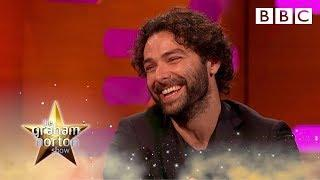 Aidan Turner's bizarre topless Poldark doll - The Graham Norton Show - BBC