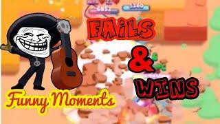 Brawl Stars - Funny moments, Fails & Wins - Montage!