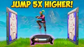 HOW TO JUMP 5X's HIGHER ON LAUNCH PAD! - Fortnite Funny Fails and WTF Moments! #221 (Daily Moments)