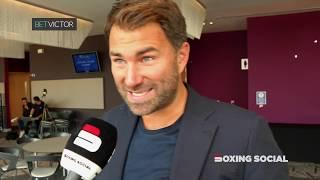 """EDDIE HEARN IN-DEPTH: """"USYK COULD FACE JOSHUA AFTER BELLEW!"""" - KHAN NAKED WEIGH-IN/PACQUIAO & BROOK"""