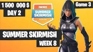 Fortnite Summer Skirmish Week 8 Day 2 Game 3 Highlights PAX WEST